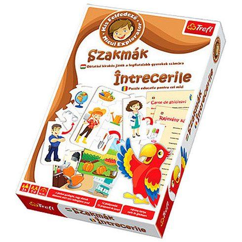 Puzzle gyerekeknek - Oktató kirakós játék szakmák - Trefl