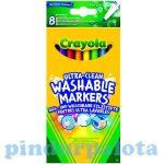 Írószerek - Iskolaszerek - Íróeszközök - Crayola extra vékony kimosható filctoll
