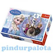 Puzzle gyerekeknek - Jégvarázs Puzzle 60 db Trefl