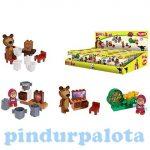 Építőjátékok - Mása és a Medve - Kezdő építőszett - Simba Toys
