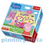 Társasjátékok gyerekeknek - Peppa malac party time