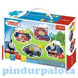 Junior puzzle - Thomas Baby Classic 4 az 1-ben puzzle - Trefl