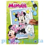 Kreatív hobby - Kifestők - Minnie egér varázskifestő A4