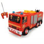 Sam a tűzoltós játékok - Sam a tűzoltó Jupiter távirányítós tűzoltó autó