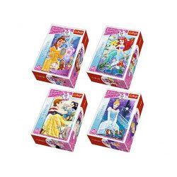 Puzzle gyerekeknek - Disney Hercegnők Mini puzzle 54 db Trefl