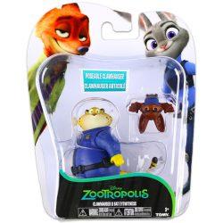 Mese figurák - Zootropolis Állati nagy balhé Clawhauser és Bat Eyewit figurák