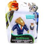 Játék figurák meseszereplők- Zootropolis Polgármester Lionheart és Lemming Businessman figurák
