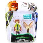 Mese szereplők játék figurák - Zootropolis Nick és Finnick figurák