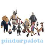 Mese figurák - Zootropolis Állati nagy balhé Judy első napja figura készlet