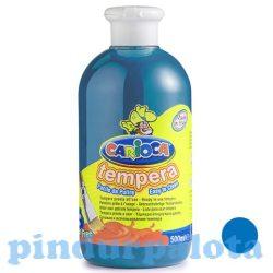Íróeszközök - Festékek - Cián kék tempera 500ml Carioca