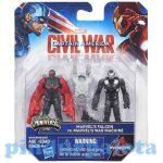 Figurák - Szuperhősök - Amerika kapitány - Polgárháború Sólyom és Hadigép figura 6cm - Hasbro