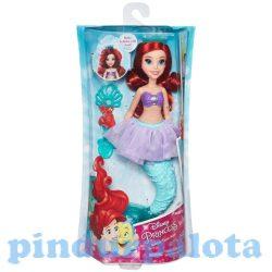 Lányos játékok - Disney Hercegnők Ariel hercegnő buborékfújós tiarával Hasbro