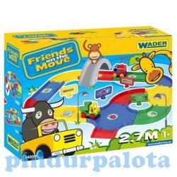 Autópályák - Bébi 2,7 m autópálya alap színekben - Wader