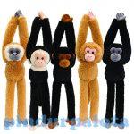 Plüss állatok - Plüss figurák - Hosszú karú lógó majom plüss 50cm-es