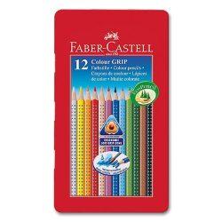 Írószerek - Színes ceruza 12db-os fém dobozban - Faber-Castell