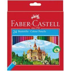 Írószerek - Iskolaszerek - Íróeszközök - Faber-Castell Castle Színes ceruza 24 db