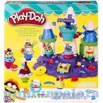 Gyurmák - Kiszúrók - Formázók - Play-Doh Jégkrém kastély gyurma szett Hasbro