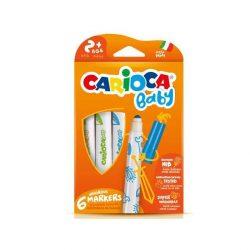 Íróeszközök - Carioca Babyfilctoll 6 darabos