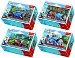 Puzzle gyerekeknek - Thomas és barátai 54 db-os mini puzzle - Trefl