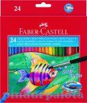 Írószerek - Faber-Castell Színes ceruza 24 db-os Aquarell