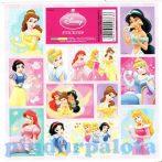 Írószerek - Iskolaszerek - Matricák - Disney Hercegnők matrica szett 12 db