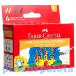 Íróeszközök - Festékek - Tégelyes 6 db-os tempera 15ml Faber-Castell