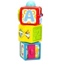 Fejlesztő játékok babáknak - Fisher Price Mókakockák új