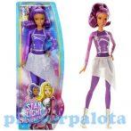 Műanyag baba - Barbie Lila ruhás baba Csillagok között