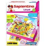 Társasjáték - Oktató - Fejlesztő - Logika és koncentráció fejlesztés - Clementoni Sapientino Lányok