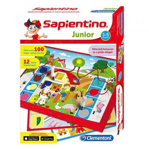Oktató társasjátékok - Clementoni Sapientino Junior