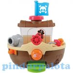 Fürdetős játékok- Kád Játékok- Kalózhajó-bébi fürdőjáték