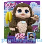Interaktív játékok gyerekeknek - FurReal Friends Giggi interaktív plüss majom Hasbro
