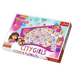 Társasjátékok gyerekeknek - Dóra és barátai Városi lányok társasjáték