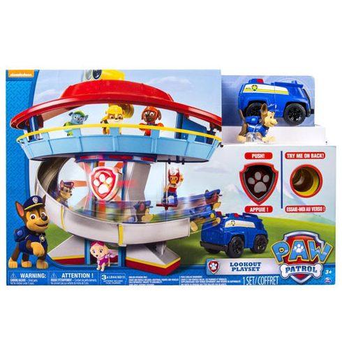 Mancs őrjáratos játékok gyerekeknek - Mancs Őrjárat megfigyelőtorony