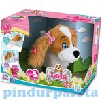 interaktív játékok - Lola plüss kiskutya