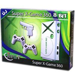 Interaktív játékok gyerekeknek - TV Játék X-Game 360 110 játékkal