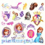 Matricák gyerekeknek - Szófia hercegnő tetoválás 35db-os