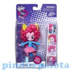 Figurák - Equestria Girls iskolai szurkoló Pinkie Pie mini figura