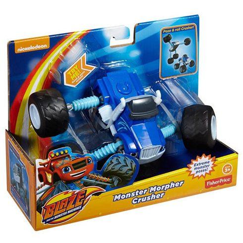 Játék autók - Autós játékok - Láng és a szuperverdák Crusher szuperkerék