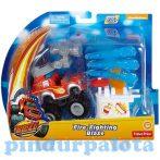 Játék autók - Autós játékok - Láng és a Szuperverdák Tűzoltó Láng járgány Fisher-Price