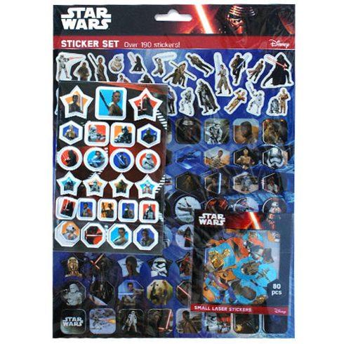 Star Wars matrica szett 190db-os - Jiri Models vásárlás