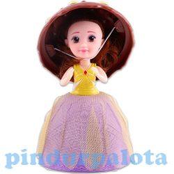 Műanyag babák - Barbie babák - Meglepi fagyikehelybaba Juliana