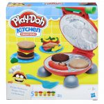 Gyurmák - Kiszúrók - Formázók - Play-Doh Hamburger sütögetés gyurmaszett Hasbro