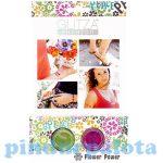Kreatív hobby készletek - Glitza csillámtetkó virág motívumok kezdő szett