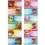 Mancs őrjáratos játékok gyerekeknek - Mancs Őrjárat füzetcímke kétféle változatban