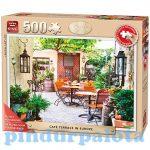Nehéz puzzle - Puzzle 500db-os Európai kávézó terasz King