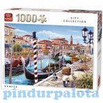 Nehéz puzzle - Puzzle 1000db-os Velence King
