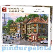 Nehéz puzzle - Puzzle 1000db-os Párizsi utcák King