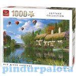 Nehéz puzzle - Puzzle 1000db-os Old River vidék King