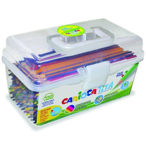 Írószerek - Tita színesceruza szett - 120 db-os - Carioca